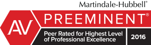 Peer Rated AV Preeminent for 20 years.